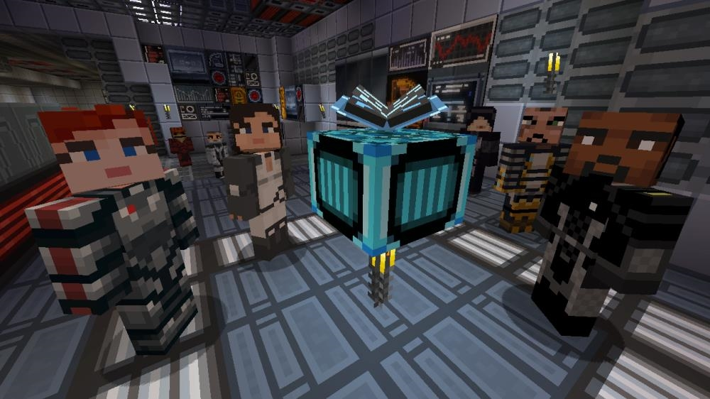 Image from Minecraft Mass Effect Mash-up (Trial)