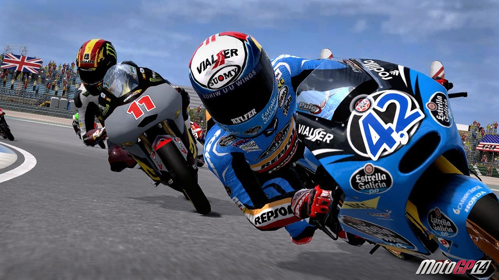 Image from MotoGP™14 Moto2™ and Moto3™
