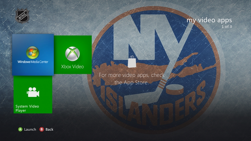 Bild von NHL - Islanders Highlight Theme