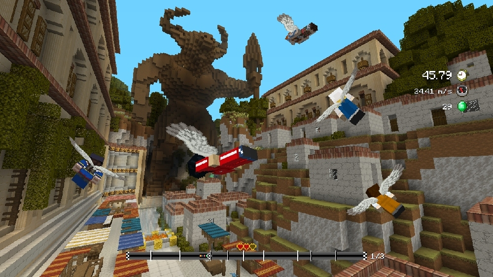 Image de Pack de circuits Vol plané Mythes Minecraft