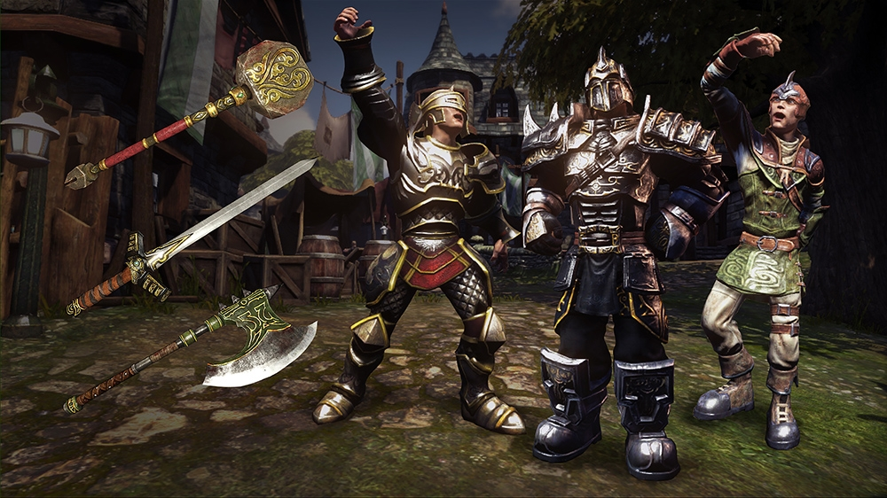 Image from Fable Armoured Weapons and Outfits Pack