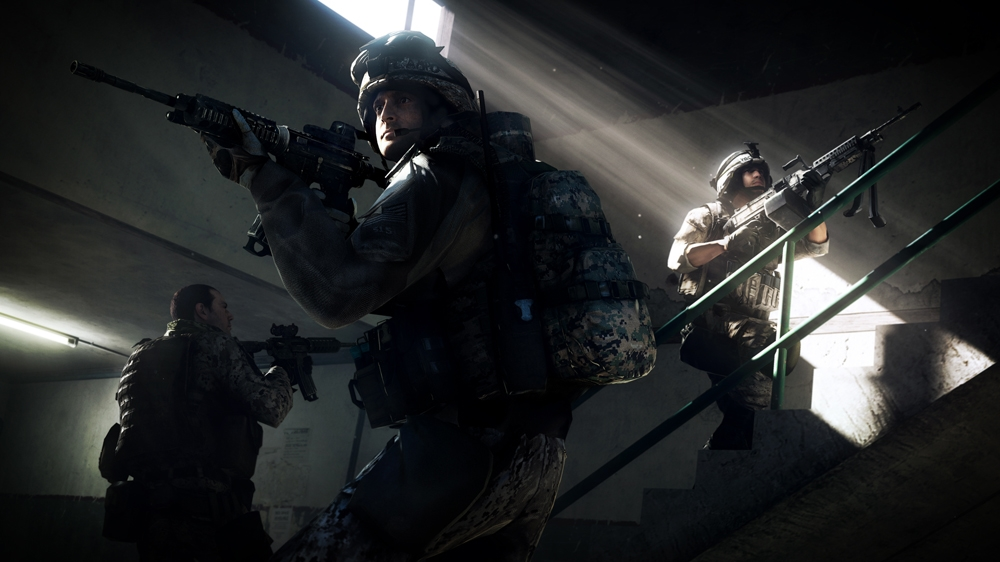 Image from Battlefield 3: End Game Capture the Flag Trailer
