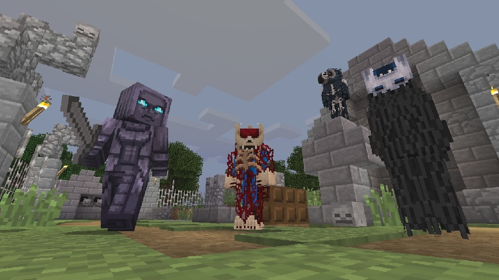 Image from Minecraft From the Shadows Skin Pack