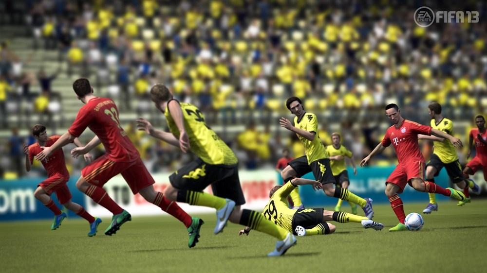 Image from FIFA Soccer 13 E3 Gameplay Trailer