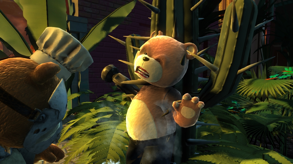 Image from Naughty Bear Panic in Paradise - Stabby the Knife