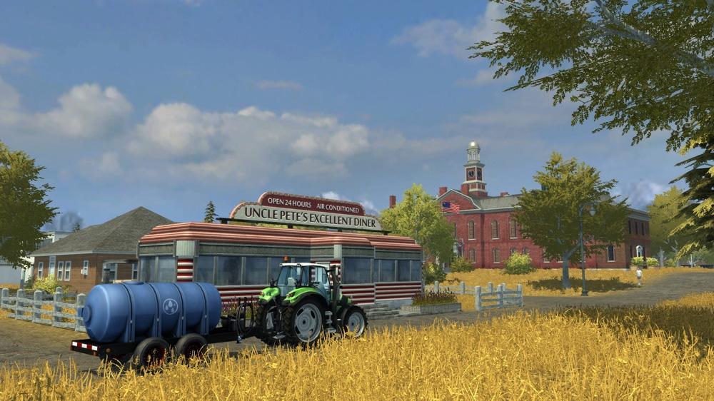 Image from FARMING SIMULATOR: LAUNCH TRAILER