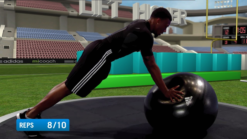 Image from Adidas miCoach: Rugby Pack