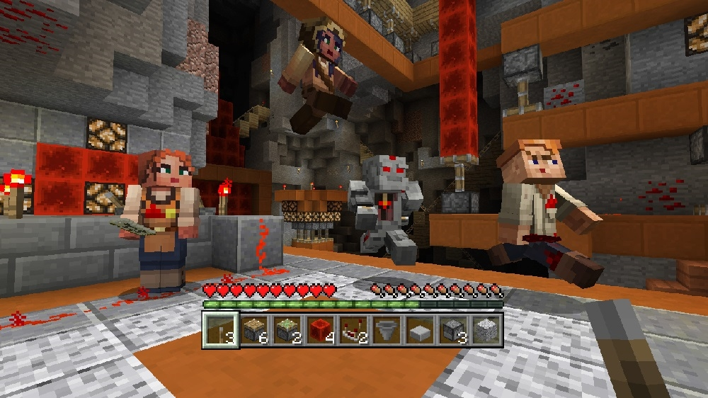 Image from Minecraft Redstone Specialists Skin Pack