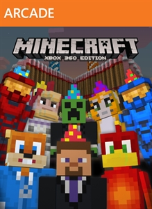 Minecraft: Xbox 360 Edition -- 2nd Birthday Skin Pack