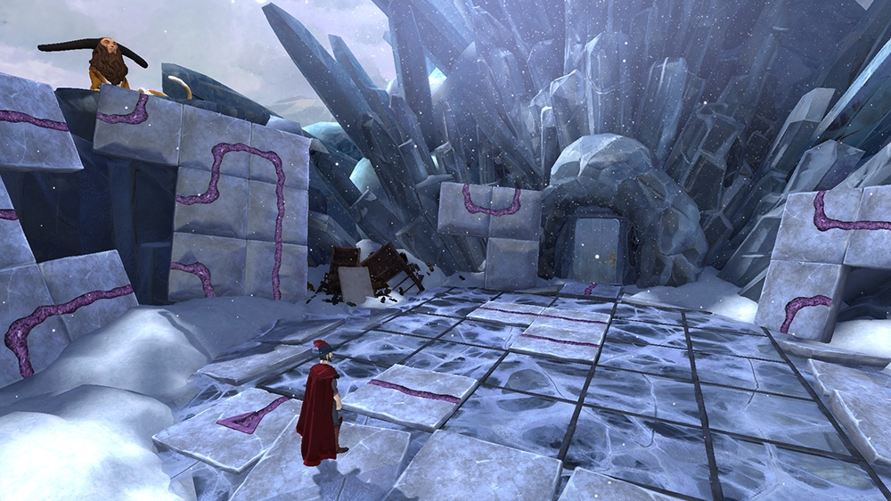 Image from King's Quest: TCC - Ch 4: Snow Place Like Home