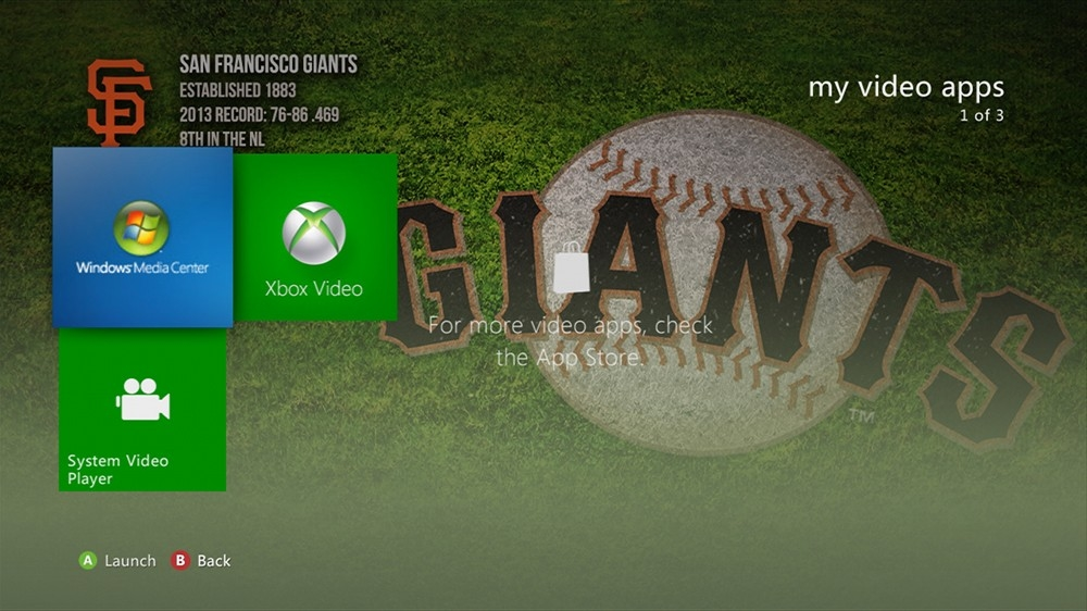 Image from MLB - Giants Dugout Theme