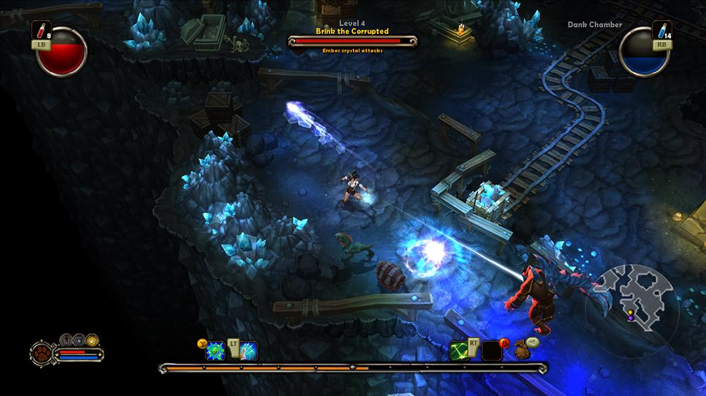 Image from Torchlight Trailer