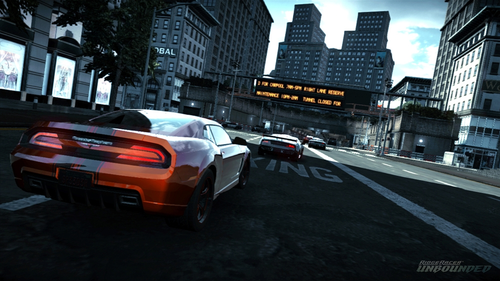 Image from DLC3 Bundle: RIDGE RACER 7 Machine & The Gallows Pack