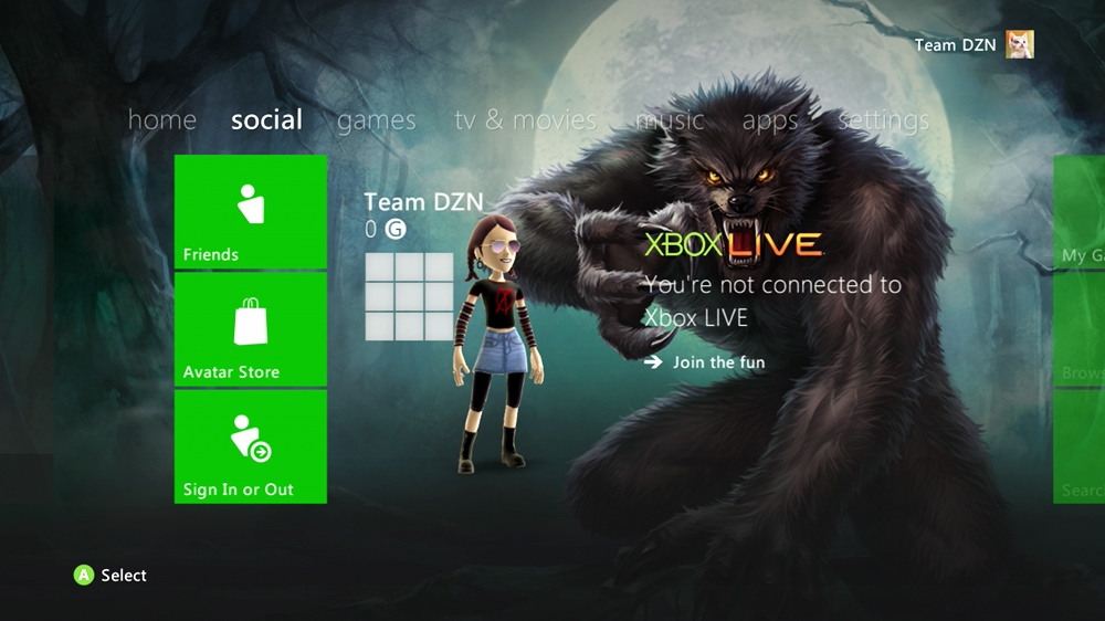 Image from Werewolf Theme