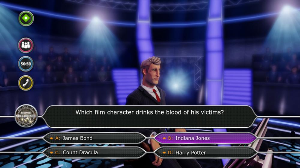 Image from Who Wants To Be A Movie Millionaire?