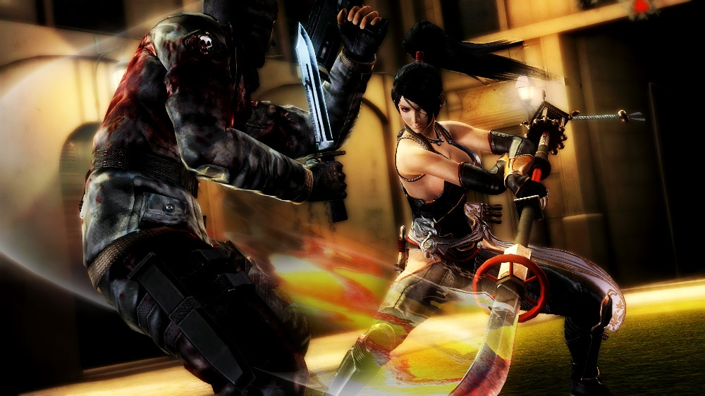 Image from NINJA GAIDEN 3: Razor's Edge launch trailer
