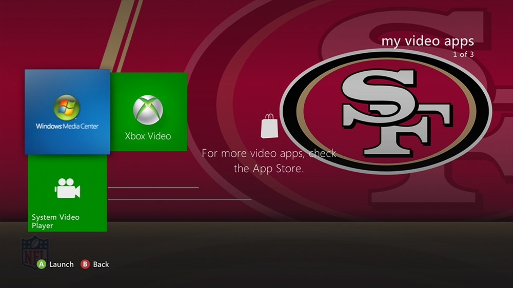 Image from NFL - 49ers Rush Theme