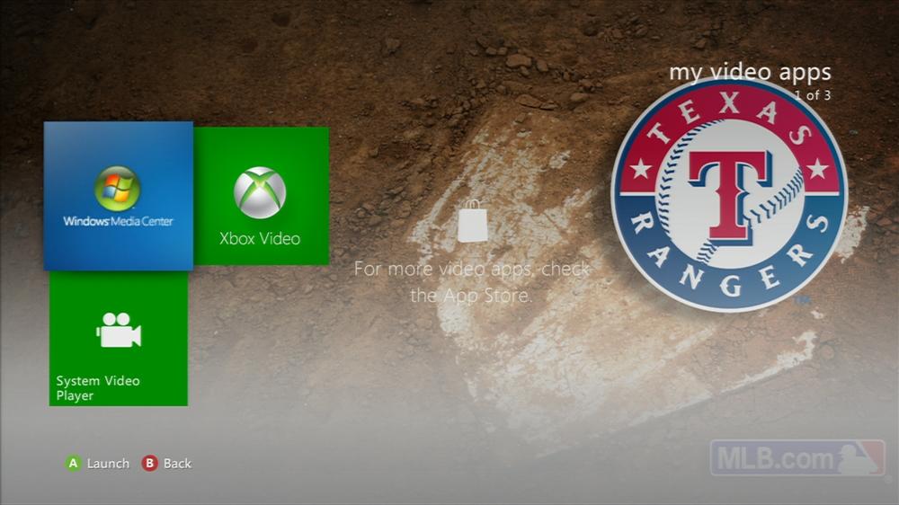 Image de MLB - Rangers Jersey Theme