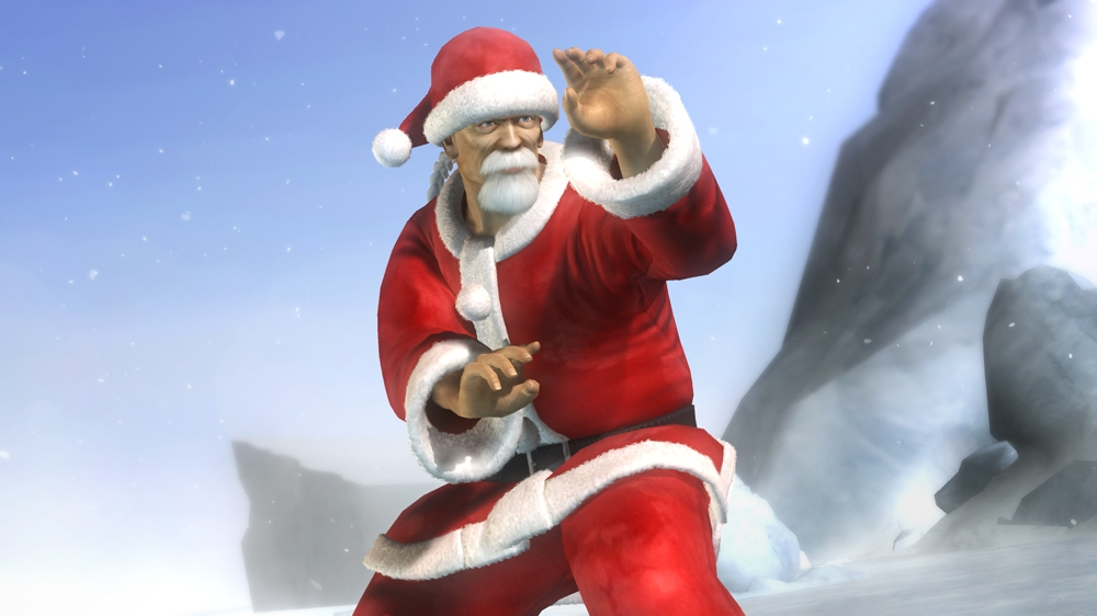 Image from Dead or Alive 5 Lil' Santas 2