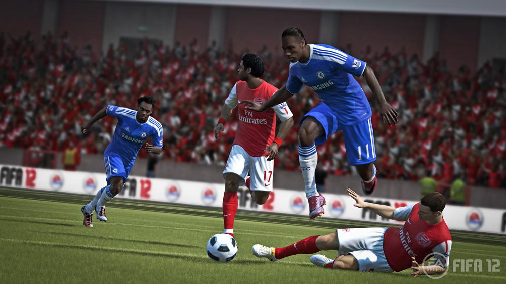 Image from EA FIFA 12 First Official Gameplay Trailer