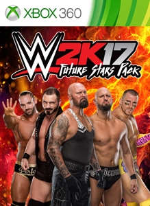 Pack Futures stars WWE 2K17