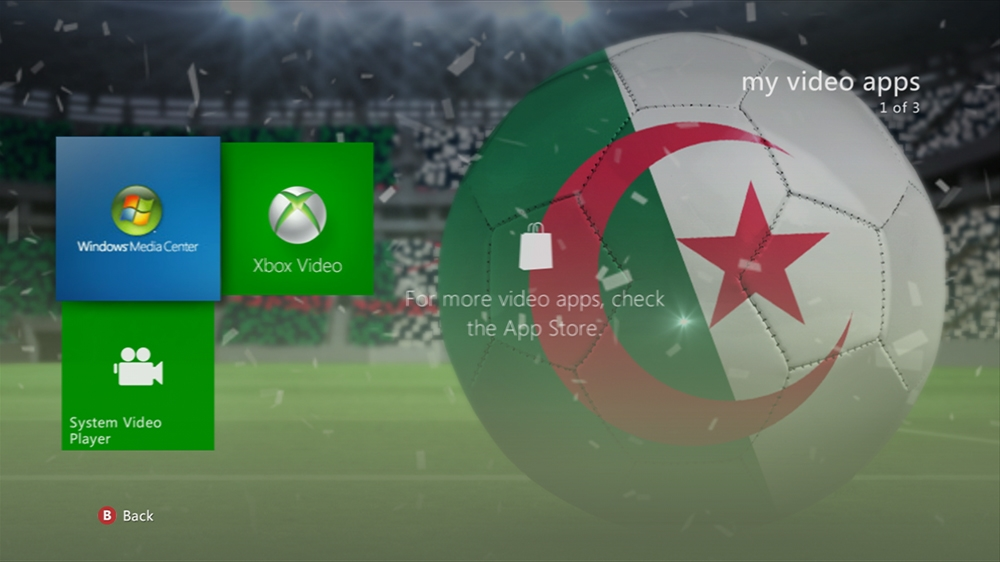 Image from World of Football - Algeria Theme
