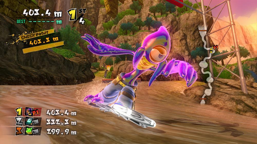 Snímek ze hry Sabre's Board