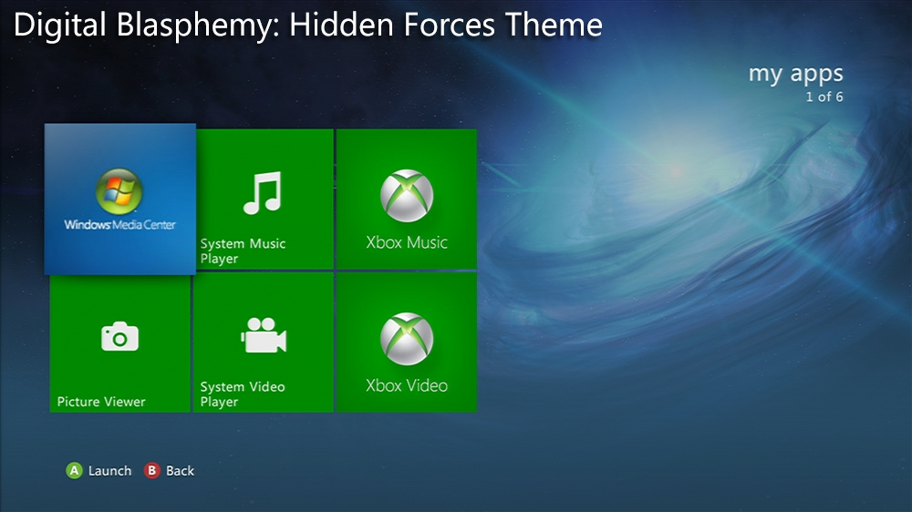 Imagen de Digital Blasphemy: Hidden Forces