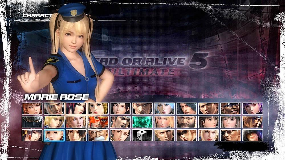 Image de Dead or Alive 5 Ultimate - Police Marie Rose