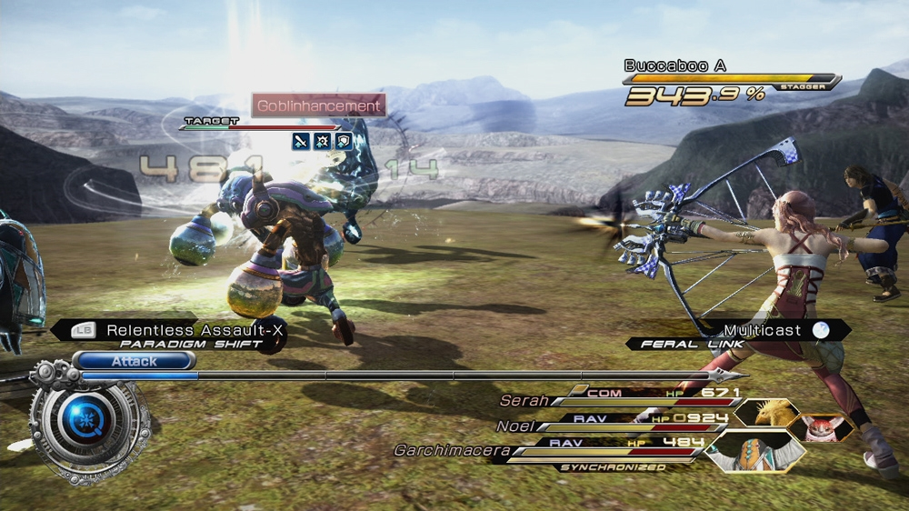 Image from Serah's Weapon: Seraphic Wing