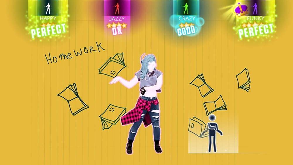 "Image from Just Dance 2014 - ""Rock N Roll"" by Avril Lavigne"