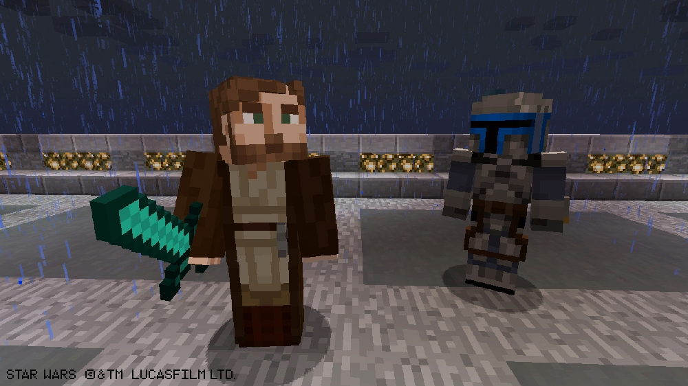 Image from Minecraft Star Wars Prequel Skin Pack