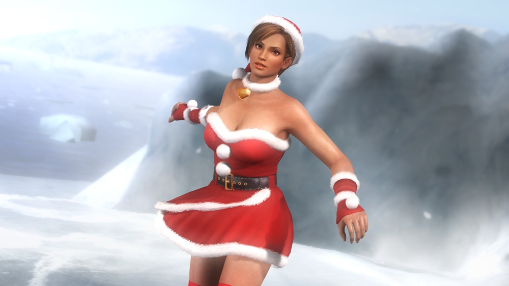 Image from Dead or Alive 5 Santa's Naughty Girls 2