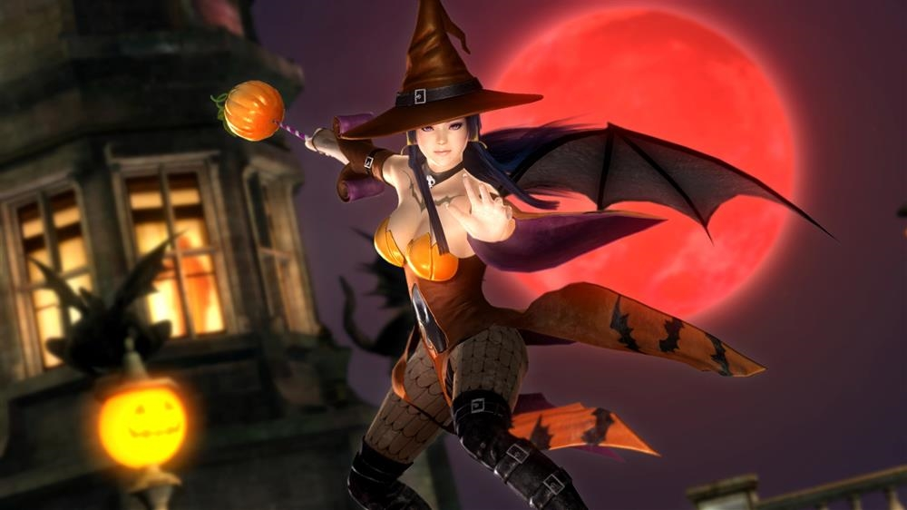 Image from DOA5LR Nyotengu Halloween Costume 2015