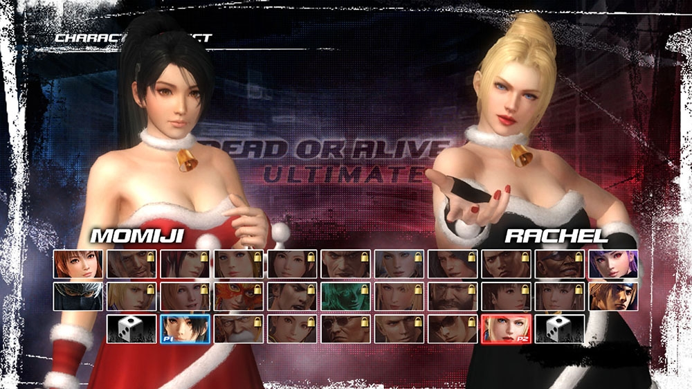 Image from Dead or Alive 5 Ultimate Santa's Helpers Set