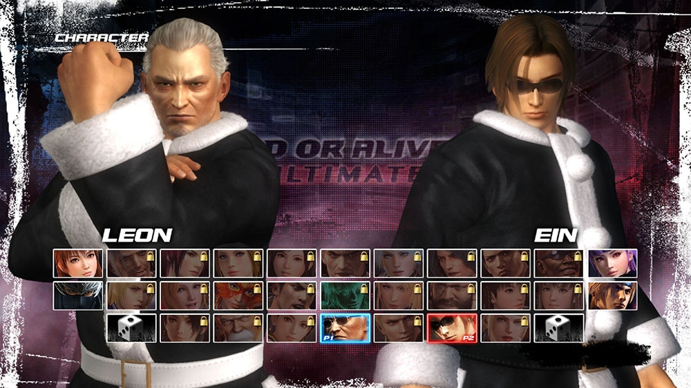 Image de Set lutins de Noël Dead or Alive 5 Ultimate