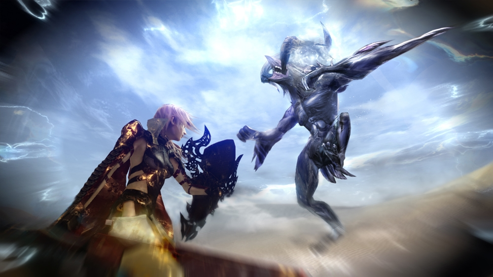 "Image from LIGHTNING RETURNS™: FINAL FANTASY® XIII – ""13 Days"" Trailer (San Diego Comic-Con 2013)"