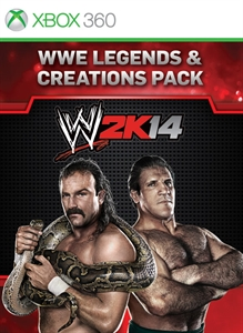 Pack WWE Legends and Creation