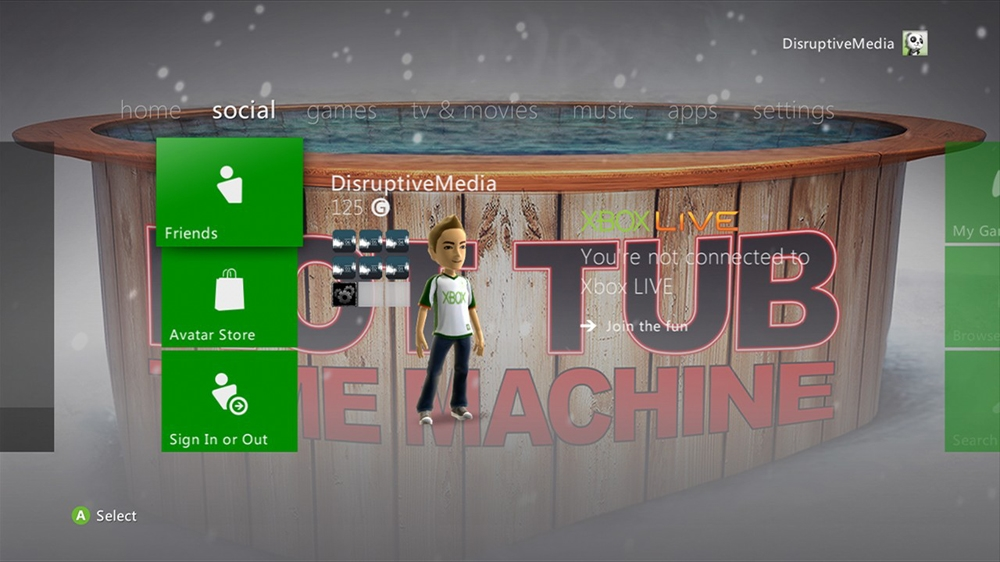 Image from Hot Tub Time Machine Premium Theme