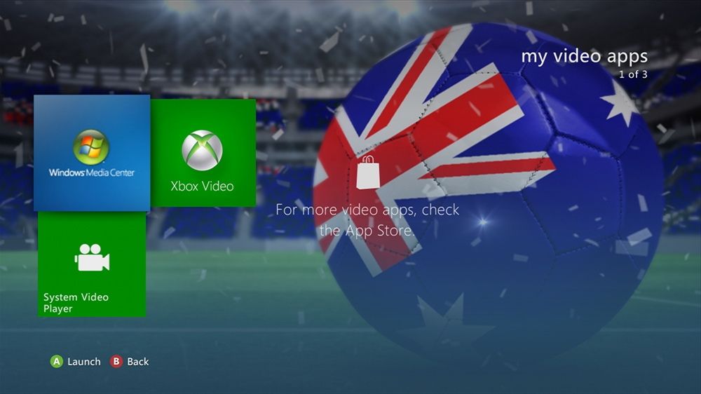 Image from World of Football - Australia Theme