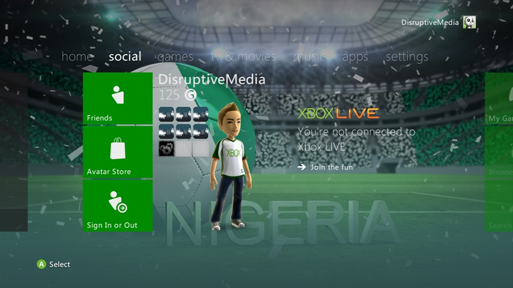 Image from World of Football - Nigeria Theme