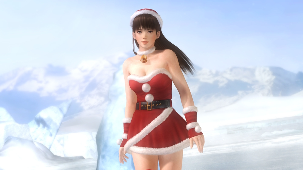 Image from Dead or Alive 5 Santa's Nice Girls