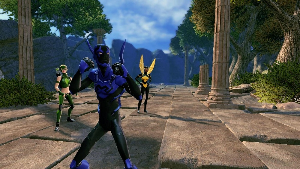 Image from Blue Beetle Hero Pack