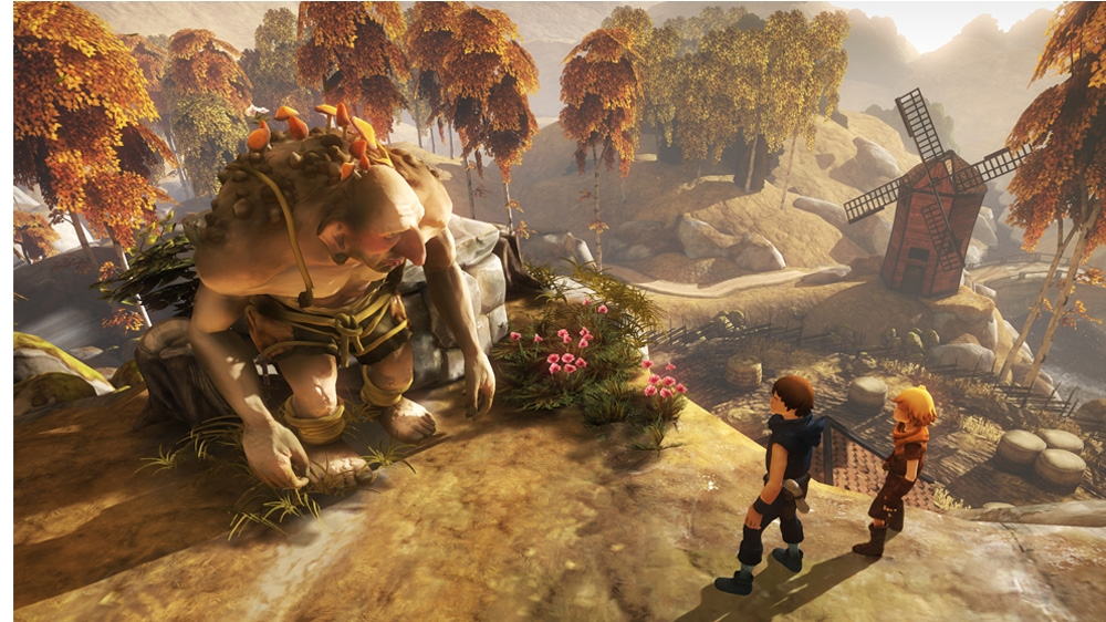 Image from Brothers: a Tale of two Sons - Walkthrough video