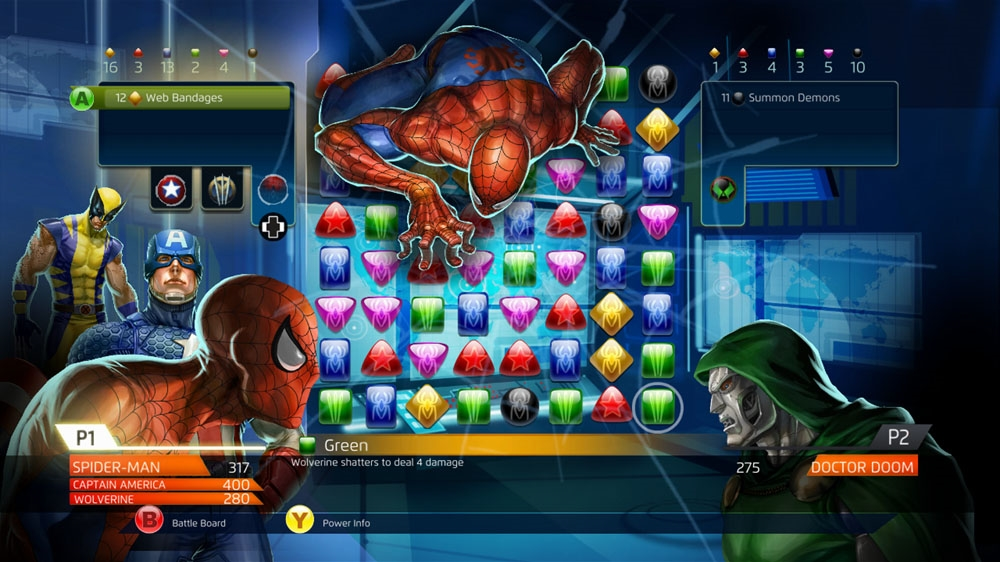 Image from Marvel Puzzle Quest: Dark Reign -Volume 2: The Case of the Cold Chimichangas – Deadpool & Doctor Octopus