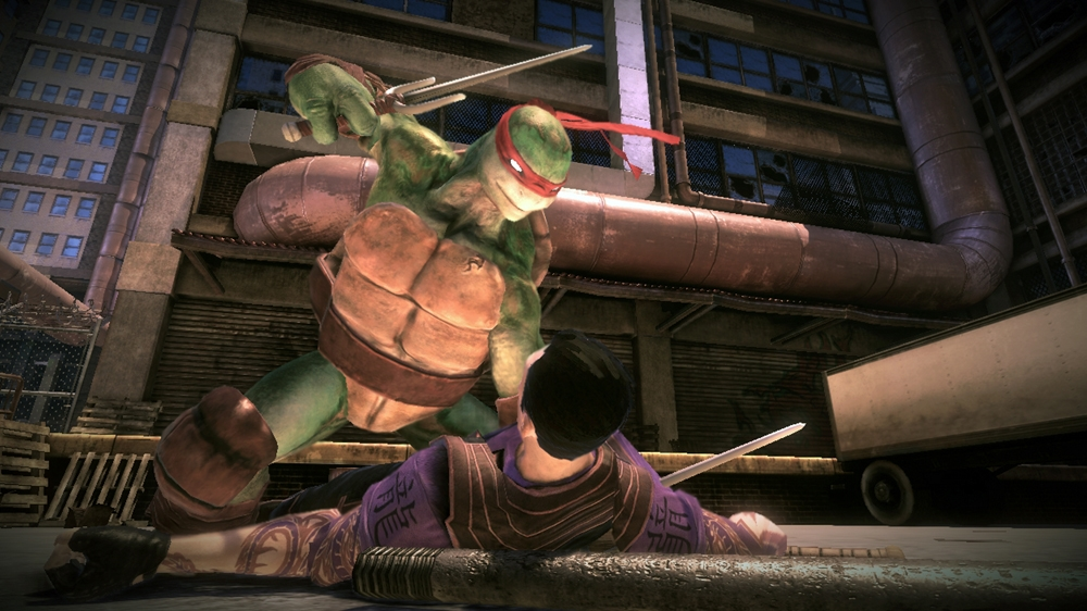 Image from Teenage Mutant Ninja Turtles: Out of the Shadows Leo Character Trailer