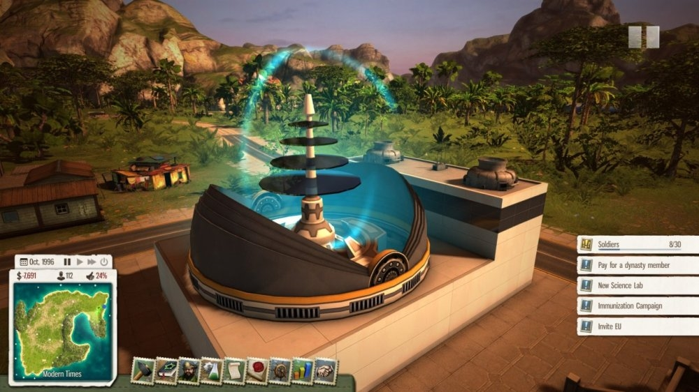 Image from Tropico 5 Paradise Lost