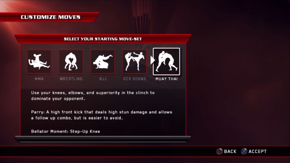 Image from Bellator: MMA Onslaught - Muay Thai Style Pack