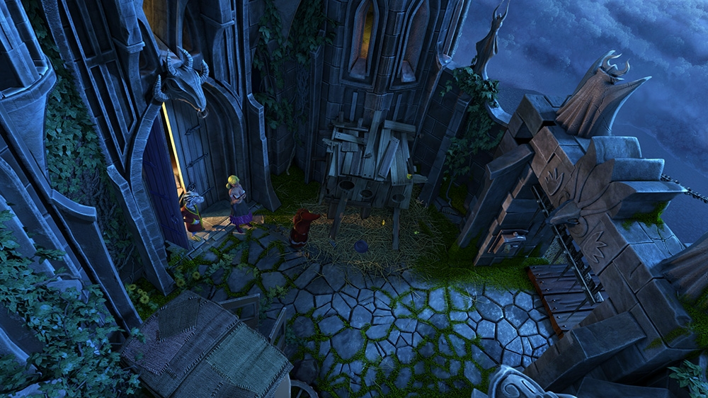 Изображение из The Book of Unwritten Tales 2