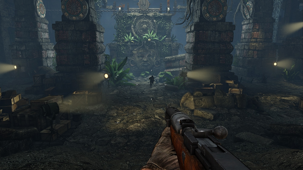 Image from Deadfall Adventures Demo